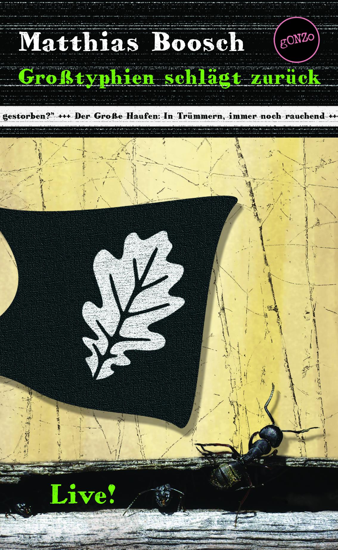 """Cover """"Großtyphien schlägt zurück"""""""