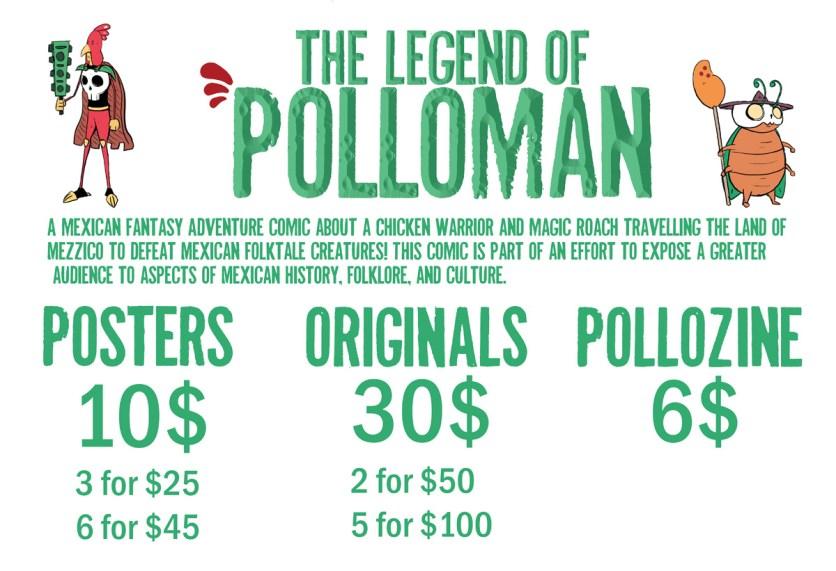 Booth sign Polloman