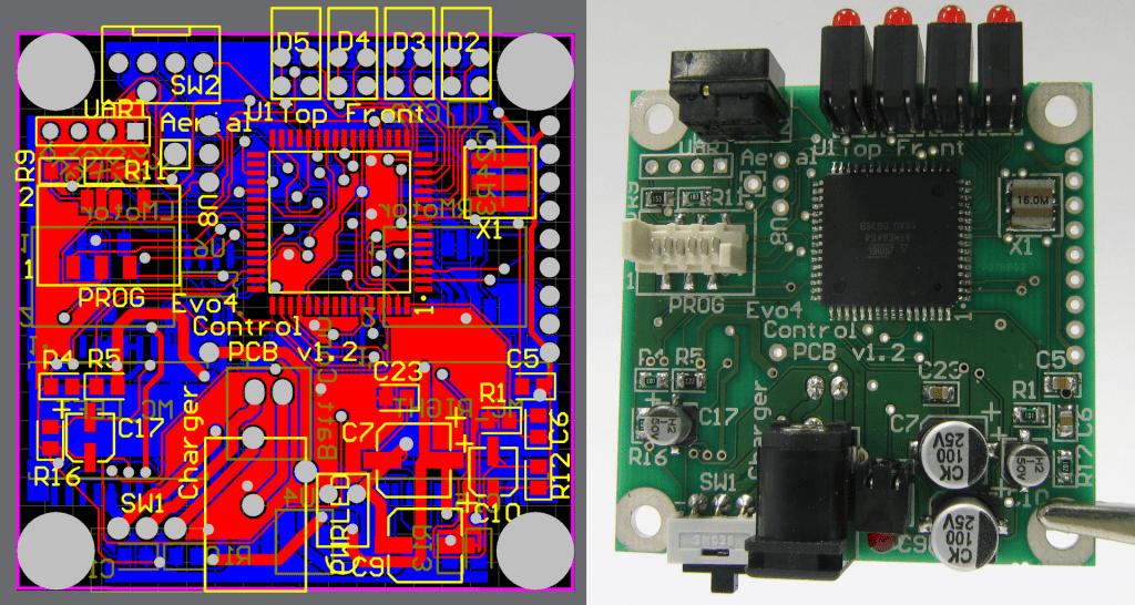 PCB 電路板 - (來源 : wiki)