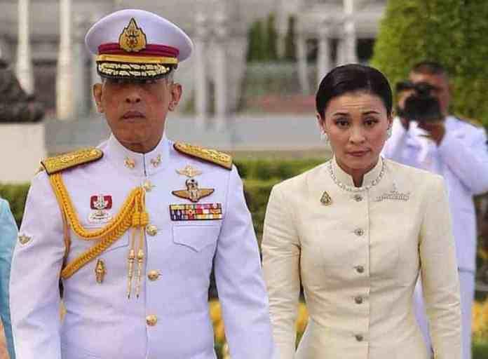 Boqorka Thailand oo guursaday haweeney ka mid ahayd Shaqaalihiisa, kana dhigay boqorad (Sawirro)