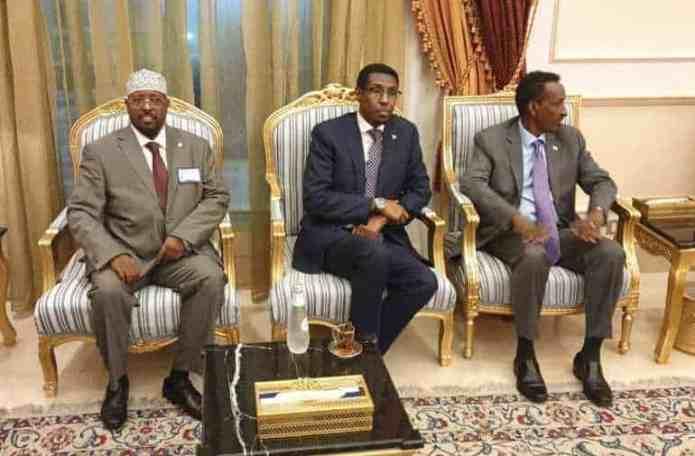 Wafdi uu hoggaaminayo Wasiirka Arrimaha dibadda oo gaaray Sacuudiga & Madaxweyne Farmaajo oo ku sii jeeda..