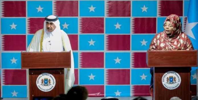 Dowladda Qatar oo ku dhawaaqay inay Malaayiin Doolar ku dhiseyso Dekadda Hobyo ee Galmudug.