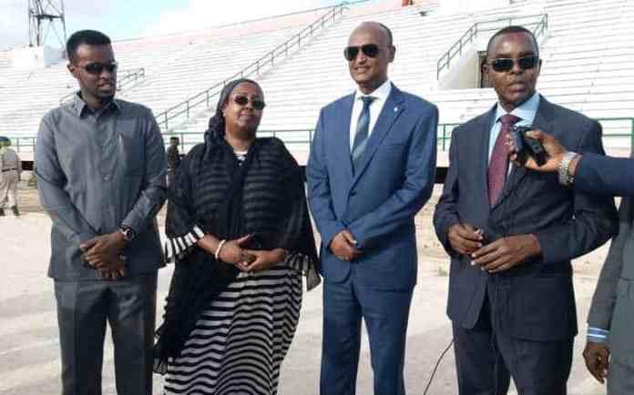 Xukuumadda Somalia oo si kulul u beenisay inay Alshabab joojiyeen dhismihii Garoonka Stadio Muqdisho