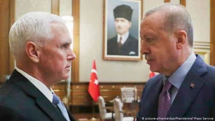 Turkiga & Mareykanka oo ku heshiiyey xabbad joojin Waqooyiga Syria & Kurdiyiinta oo laga fogeynayo xuduudka…