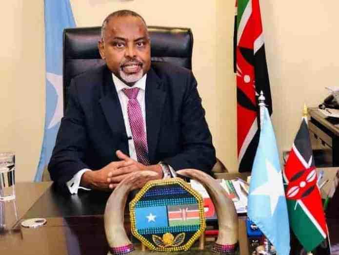 """Safaaradda Somalia ee Kenya: """"Dadka iska baara Covid-19 ee laga waayo kaliya ayaa la qaadayaa.."""""""