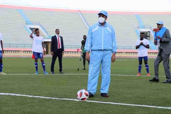 """Garoonka weyn ee 'Muqdisho Stadium' oo dib loo furay """"Daawo Sawirro"""""""