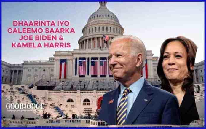 TOOS: Daawo Xafladda Dhaarinta Madaxweynaha cusub ee Mareykanka Joe Biden
