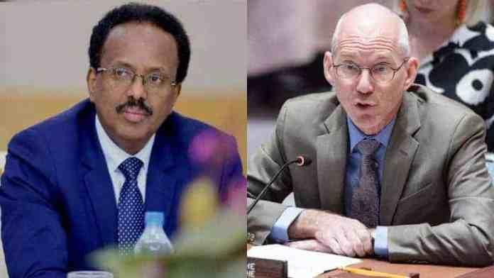 James Swan oo Qaaday tallaabo laga sugayey Farmaajo, kana hadlay Geesinimada ciidamada Somaliya