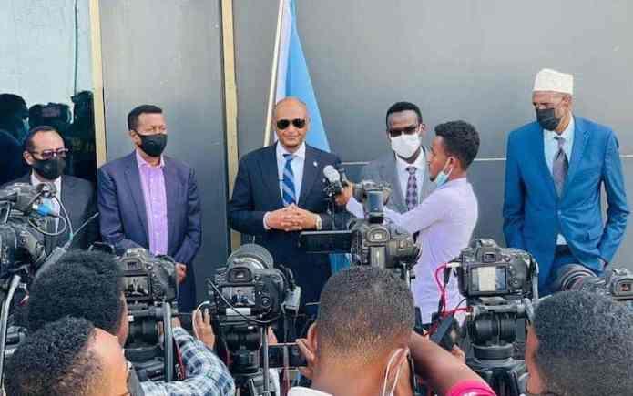 Guddi ka socda dowladda Somalia oo  ka qeyb galaya dhageysiga Dacwadda  Badda ee Maxkamadda ICJ
