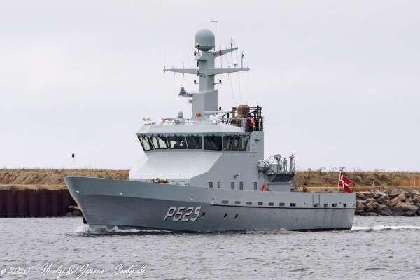 P525 Rota anløber Køge