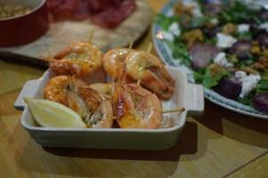 Food at Gooce Supper Club