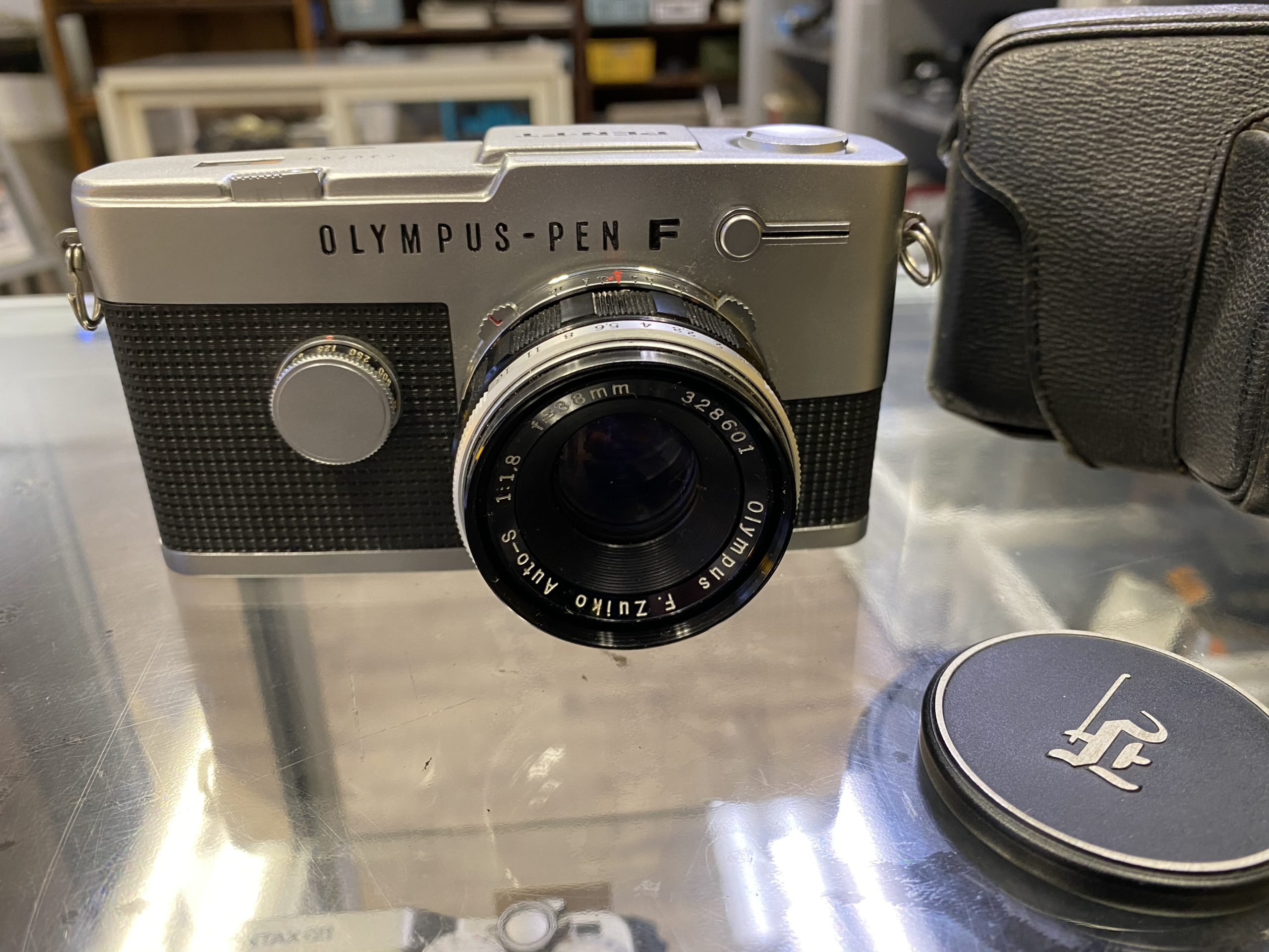 OLYMPUS PEN-FT F.Zuiko 38mm F1.8