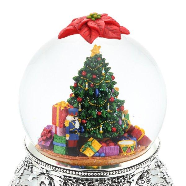 """O Tannenbaum"" Christmas Eve Snow Globe Music Box (Musical Box Water Globe / Snow Domes Christmas Present)"