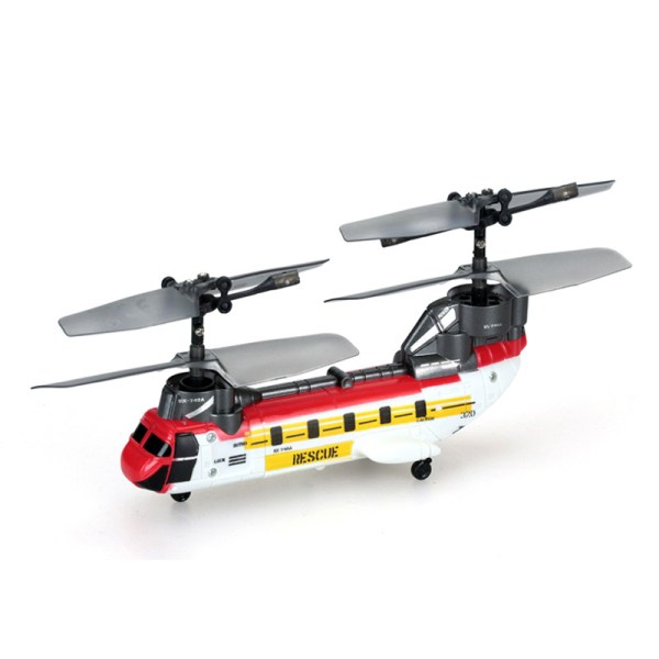 """""""Super Micro RC Helicopter"""" Boeing CH-47 Chinook Tandem Rotor Super-mini Remote Control Scale Model Transport Helicopter."""
