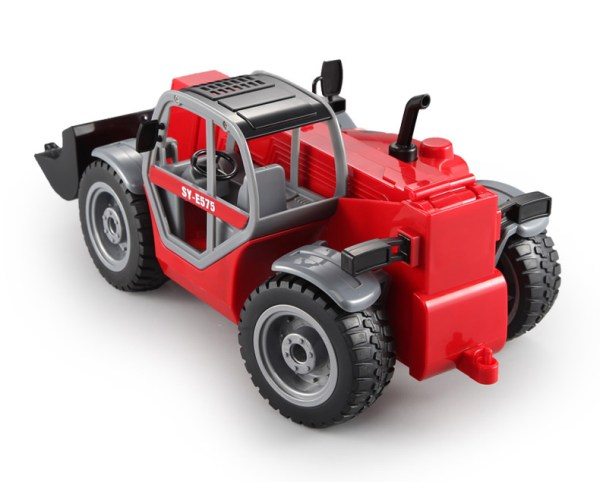 """-""""Simulation RC Telescopic Loader""""- Electric Remote Control Telescopic Forklift Toy (Construction Vehicle toy, Outdoor children's beach toy)"""