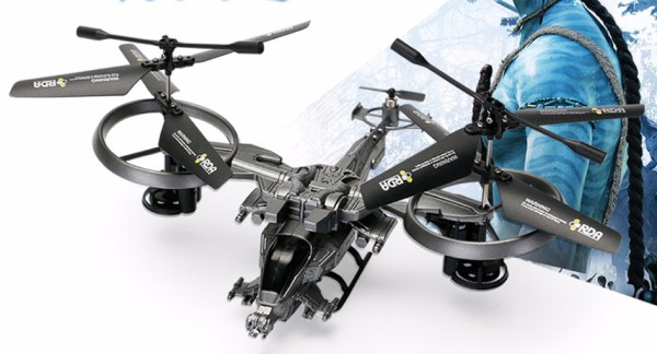 """""""Attoptoys Avatar RDA Scorpion Gunship RC Helicopter Toy"""", Avatar Sci-fi movie Scorpion Gunship RC Helicopter Toy, 2.4Ghz, 4CH, RTF, For Indoor & outdoor flight, For Beginner Helicopter."""
