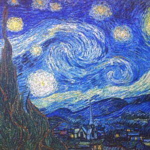 1000 Pieces Wooden Jigsaw Puzzle Vincent van Gogh The Starry Night sophisticated Jigsaw puzzle for adults brain teaser game picture Puzzle pieces Oil painting jigsaw pieces
