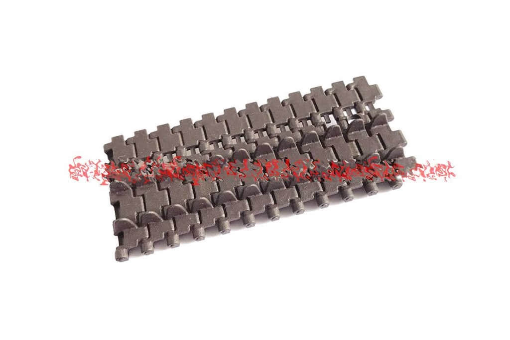 """""""A Section of Spare Caterpillar Track"""" hang on the front of The Tiger I RC Tank (Decorate) For Heng-Long 3818 Tiger 1 RC Tank Accessories & Parts & Fittings."""