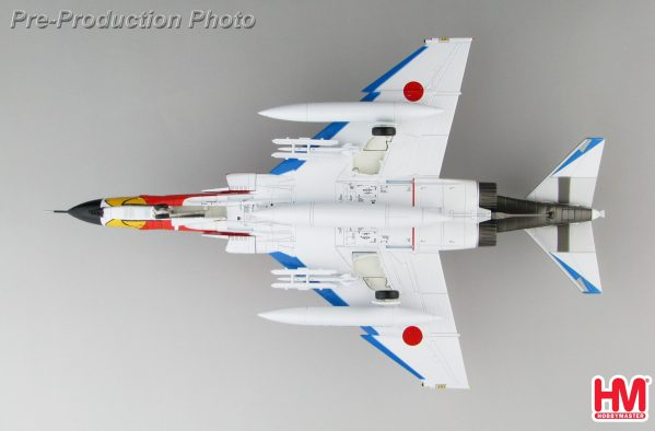 """Hobby Master Collector 1/72 Air Power HA19011 Japan Air Self-Defense Force McDonnell Douglas F-4 Phantom II Jet Interceptor and Fighter-Bomber , F-4EJ Kai """"302sq F-4 final Year 2019"""" (white) (Military Airplanes Diecast Model, Pre built Aircraft Scale Model)"""