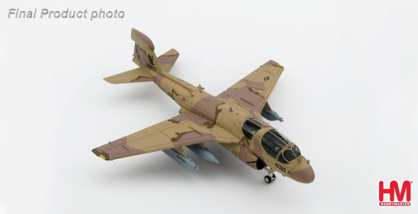 """Hobby Master Collector 1/72 Air Power HA5002 Grumman EA-6B Prowler 161120, VAQ-133 """"Wizards"""", Bagram Airfield, Afghanistan, 2007. United States Navy Northrop Grumman EA-6B Prowler Electronic warfare/Attack aircraft (Military Airplanes Diecast Model, Pre built Aircraft Scale Model)"""