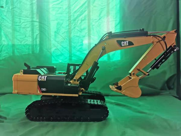 All Metal (Full Metal), Weighs 11kg! Boom Arm Work Force 20KG, 1:18 Scale Model RC Hydraulic Excavator.---(RC Heavy Equipment, RC Construction Vehicle, RC Heavy Machinery, RC Engineering Vehicles, RC Earthwork Qperations Equipment, RC Hydromechanical)