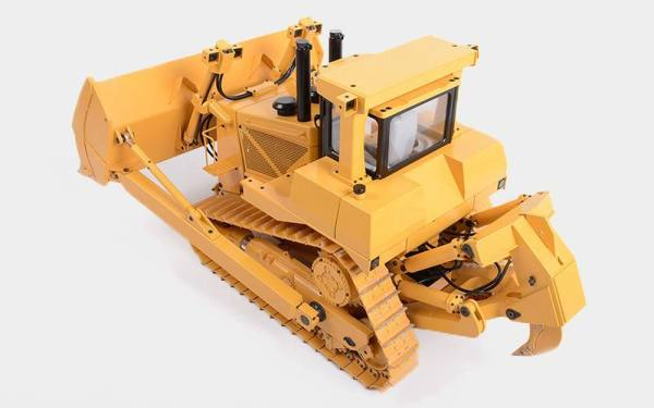 All Metal, Weighs 30kg! 1:14 Scale Model RC Hydraulic Bulldozer.---(RC Heavy Equipment, RC Construction Vehicle, RC Heavy Machinery, RC Engineering Vehicles, RC Earthwork Qperations Equipment, RC Hydromechanical)