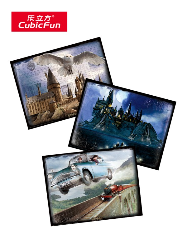 harry potter fan collection Best Harry Potter Mural images Harry Potter Wall Mural Harry Potter Wall Graphic Cubic-Fun 3D photo Lenticular Printing Paper Puzzles