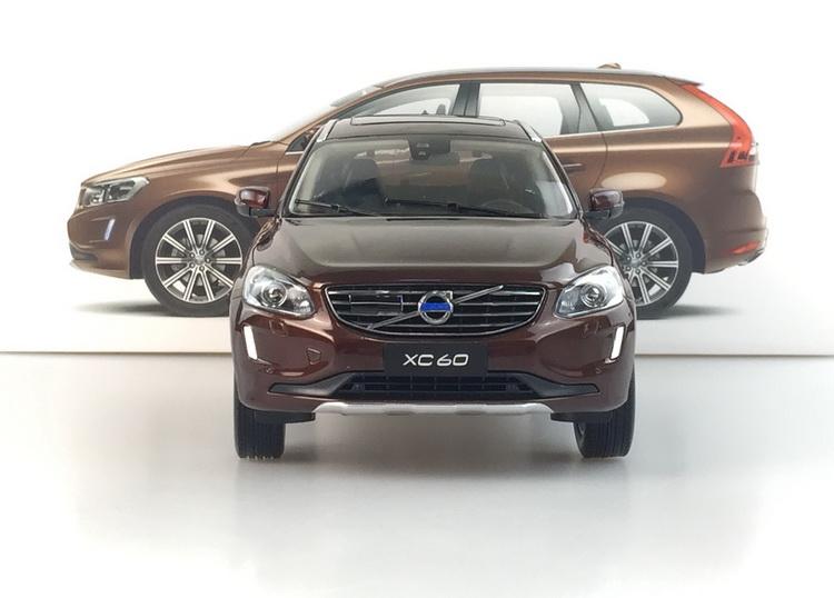 Live Car Model 1/18 Dealer Edition Volvo XC60 (Brown) Diecast Car Model