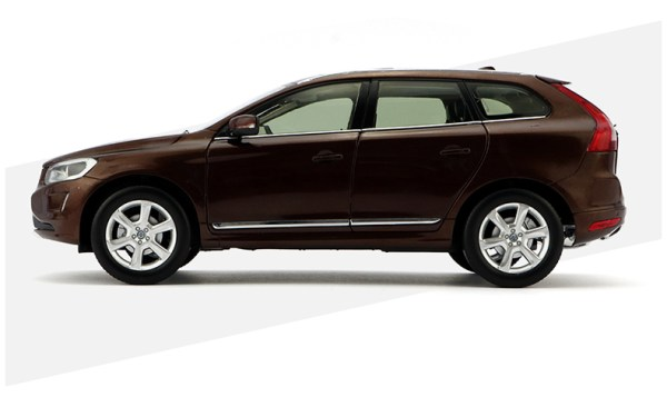 Volvo xc60 2018 2019 2020 Brown color 1 18 Scale Model Car Scale die-cast vehicles diecast model car collectible model car collector toy car