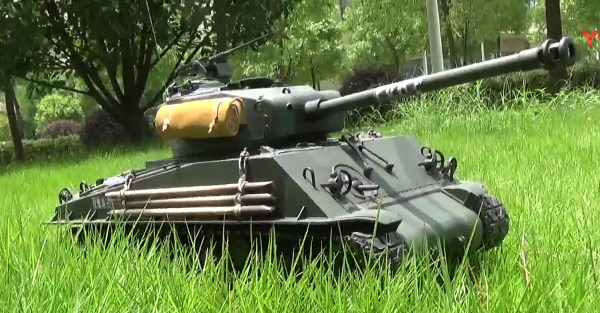 If you compare the suspension units and the track on this late production Sherman to the early models that first arrived on the battlefield in 1943 you will notice a lot of changes.
