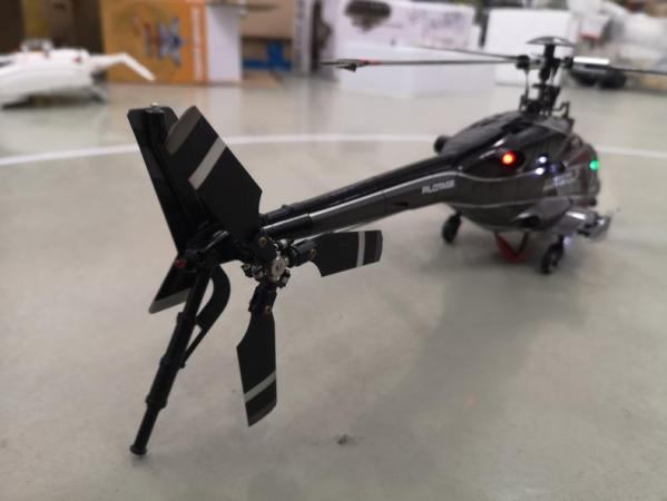 RTF Walkera RC Helicopter Airwolf 200SD3 For Sale, 3-Axis Flybarless Triple Bladed 6CH 2.4GHz Radio Remote Control Brushless 3D Helicopter, Walkera RC Heli With DEVO 7 Transmitter