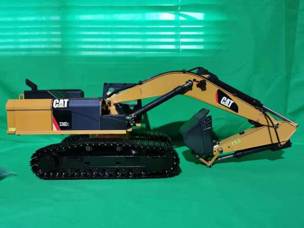 All & Full Metal RC Excavator, Jackscrew & Screw Jack RC Excavator, Threaded Rod Jack Lifting Device Driven Excavator Working Arm, Perfect Model (Toy) RC Excavator Solution, as Powerful as the RC Hydraulic Excavator, Cheaper than RC Hydraulic Excavators