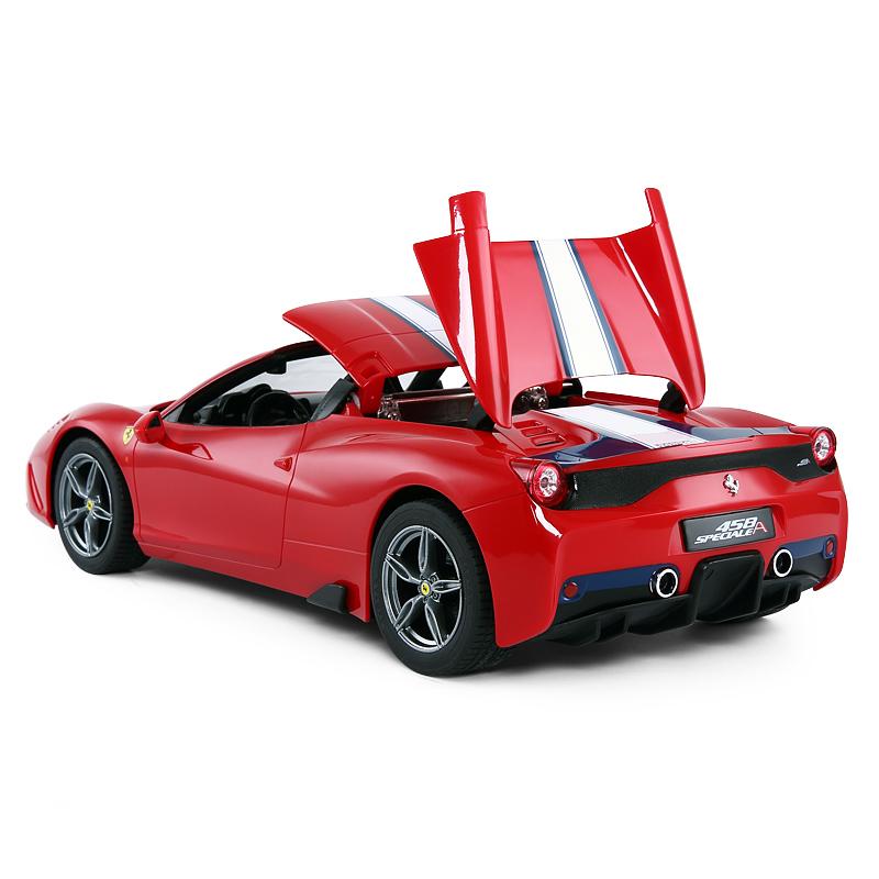 Red Ferrari 458 Speciale A RC Toy Car. 1/14 Scale RASTAR RC Car 74560 Ferrari Radio Remote Control Sports Car, Boys, Kids, Boy, Girl, Toy Vehicle, Birthday Gifts, Holiday Presents. Ferrari steering wheel controller, One click To Ferrari convertible.