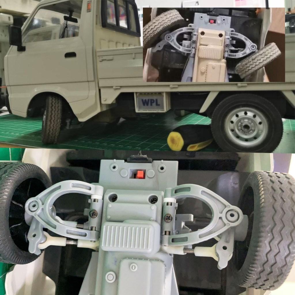 Suzuki Carry Mini Truck Remote Control Light Truck Scale Model RC Suzuki Carry Van Compact Pickup Truck RC Kei Car Suzuki Microvan Mounted Longitudinally Rear-mid Engine Rear-wheel drive