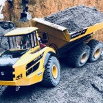 Remote Control Construction vehicle Construction Equipment heavy machinery hydraulic bulldozer Excavator Wheel Loader RC Hydraulic Articulated Dump Truck