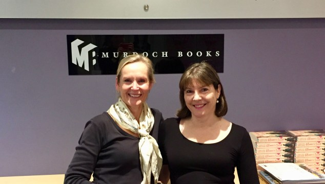 Corinne Roberts and Margaret Rice at Murdoch Books