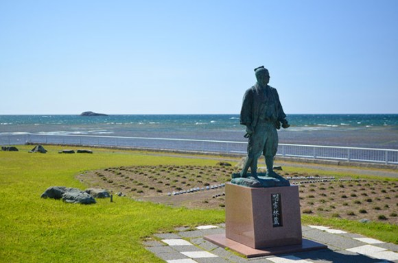 Cape Soya in Wakkanai