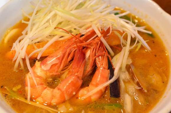 Seafoods Soup Curry -Medicine Man in Sapporo-