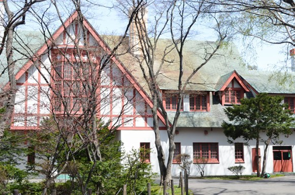 Hokkaido Governor's Official Residence in Sapporo
