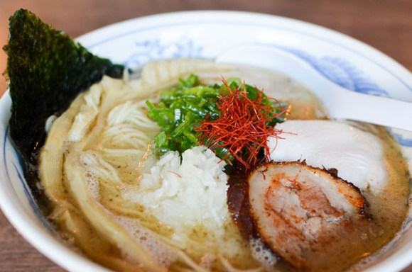 Chicken Broth Salt Ramen with Fish Powder -Hien in Sapporo-
