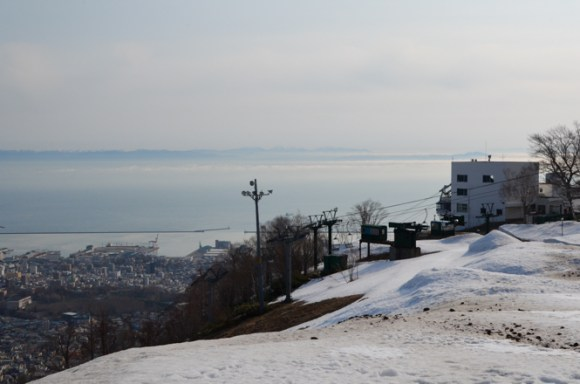 Mt. Tenguyama in Otaru