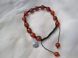Carnelian_Shambala_believe_bracelet