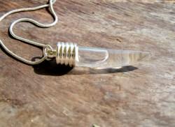 Lourdes shark necklace