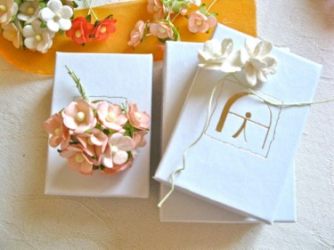 Gift pack - orange flowers