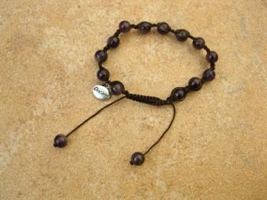 Amethyst Shambala dream bracelet