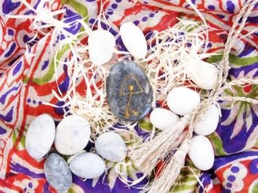Holistic good luck charm stone