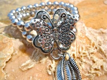Symbolic bracelet - butterfly