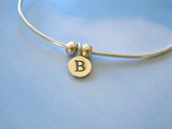 Letter B charm