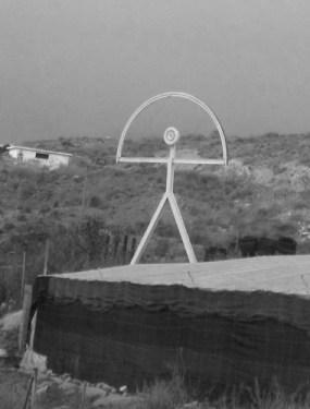 Indalo statue Almeria