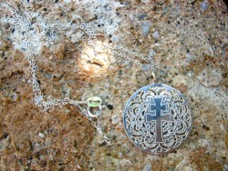 Caravaca cross filigree